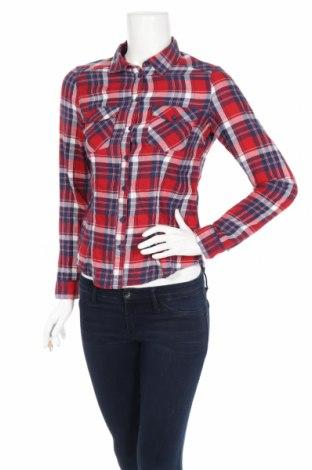 Дамска риза H&M Divided, Размер XS, Цвят Многоцветен, Памук, Цена 16,80лв.