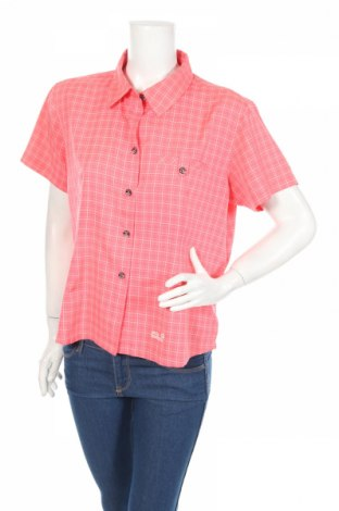 Dámska košeľa  Jack Wolfskin, Veľkosť XL, Farba Ružová, 90% polyester, 10% viskóza, Cena  14,00€