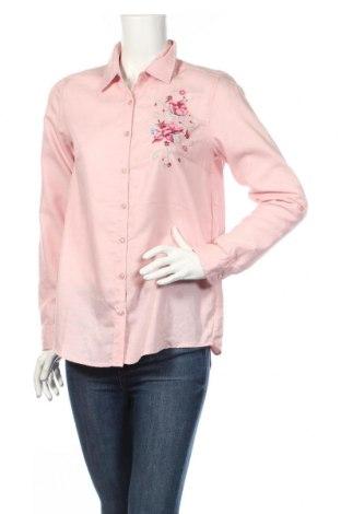 Dámská košile  Janina, Rozměr M, Barva Růžová, 56% bavlna, 44% polyester, Cena  542,00Kč