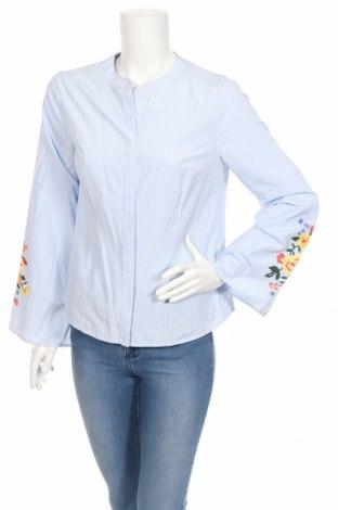 Γυναικείο πουκάμισο Koton, Μέγεθος L, Χρώμα Μπλέ, Τιμή 12,71€