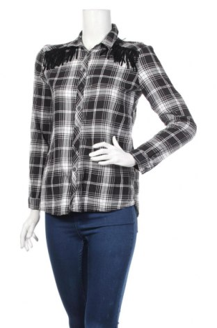 Дамска риза LCW, Размер S, Цвят Черен, Памук, Цена 14,18лв.