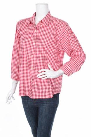 Dámska košeľa  Lands' End, Veľkosť XL, Farba Červená, 70% bavlna, 30% polyester, Cena  9,70€