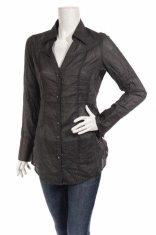 Дамска риза S.Oliver, Размер M, Цвят Сив, 100% памук, Цена 16,80лв.