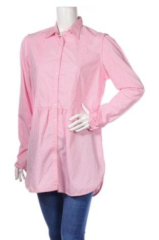 Damska koszula Stanfield, Rozmiar L, Kolor Różowy, 64% bawełna, 34% poliester, 2% elastyna, Cena 66,00zł