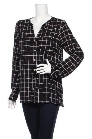 Дамска риза Street One, Размер L, Цвят Черен, Вискоза, Цена 17,85лв.
