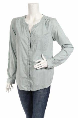 Дамска риза Street One, Размер L, Цвят Зелен, 100% памук, Цена 17,85лв.