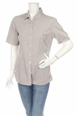 Γυναικείο πουκάμισο Tommy Hilfiger, Μέγεθος M, Χρώμα Πράσινο, 97% βαμβάκι, 3% ελαστάνη, Τιμή 21,64€