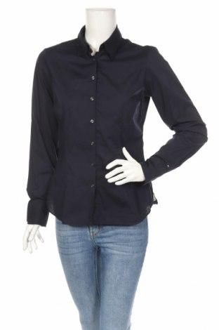 Γυναικείο πουκάμισο Tommy Hilfiger, Μέγεθος S, Χρώμα Μπλέ, 97% βαμβάκι, 3% ελαστάνη, Τιμή 22,91€