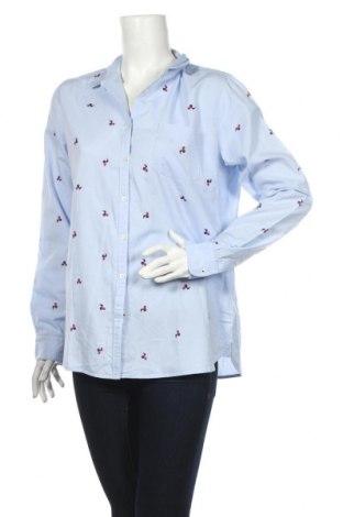 Dámská košile  Tommy Hilfiger, Rozměr L, Barva Modrá, 100% polyester, Cena  670,00Kč