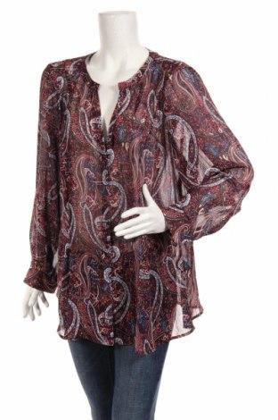 Дамска риза Zac & Rachel, Размер XXL, Цвят Многоцветен, 95% полиестер, 5% еластан, Цена 18,90лв.