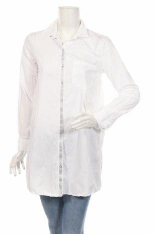 Dámska košeľa  Zara, Veľkosť S, Farba Biela, Bavlna, Cena  15,96€