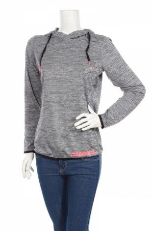 Дамска спортна блуза, Размер S, Цвят Сив, Полиестер, Цена 19,55лв.