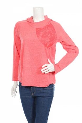Дамска спортна блуза Active, Размер L, Цвят Розов, 51% полиестер, 42% полиамид, 7% еластан, Цена 18,52лв.