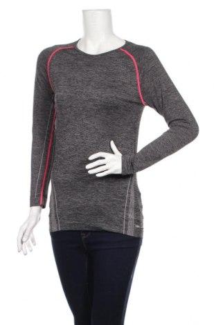 Дамска спортна блуза Crane, Размер L, Цвят Сив, Цена 17,49лв.