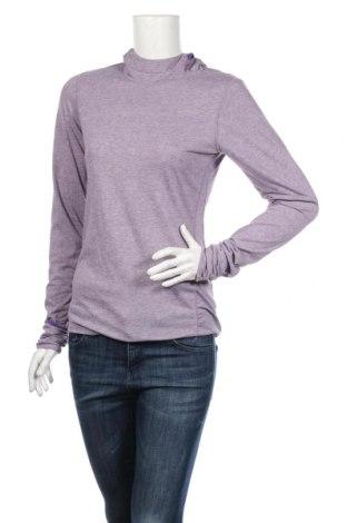 Γυναικεία αθλητική μπλούζα Nike, Μέγεθος S, Χρώμα Βιολετί, 85% πολυεστέρας, 15% ελαστάνη, Τιμή 21,64€