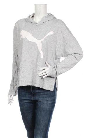 Γυναικεία αθλητική μπλούζα PUMA, Μέγεθος L, Χρώμα Γκρί, Πολυεστέρας, Τιμή 18,18€