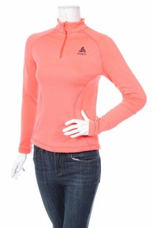 Damska sportowa bluzka Odlo, Rozmiar XS, Kolor Różowy, 92% poliester, 8% elastyna, Cena 67,20zł