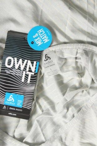 Дамска спортна блуза Odlo, Размер L, Цвят Сив, 59% лиосел, 41% полиестер, Цена 40,50лв.