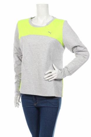 Γυναικεία αθλητική μπλούζα PUMA, Μέγεθος L, Χρώμα Γκρί, 77% βαμβάκι, 23% πολυεστέρας, Τιμή 25,61€