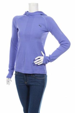 Γυναικεία αθλητική μπλούζα PUMA, Μέγεθος S, Χρώμα Βιολετί, 92% πολυαμίδη, 8% ελαστάνη, Τιμή 35,57€