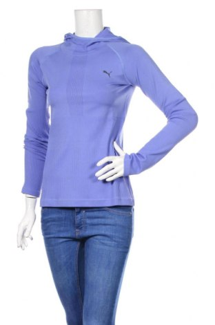 Γυναικεία αθλητική μπλούζα PUMA, Μέγεθος S, Χρώμα Βιολετί, 92% πολυαμίδη, 8% ελαστάνη, Τιμή 25,61€