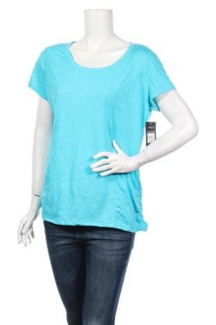 Dámské tričko Athletic Works, Rozměr XL, Barva Modrá, 80% polyester, 20% bavlna, Cena  406,00Kč