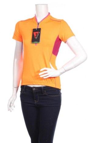 Női póló CMP, Méret S, Szín Narancssárga , 98% poliészter, 2% elasztán, Ár 7392 Ft
