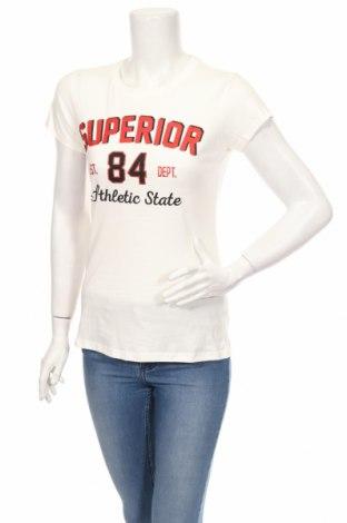 Γυναικείο t-shirt Fb Sister, Μέγεθος S, Χρώμα Λευκό, Βαμβάκι, Τιμή 14,43€