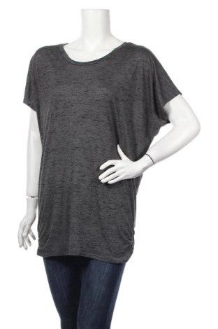 Tricou de femei H&M Sport, Mărime L, Culoare Gri, 68% poliester, 32% viscoză, Preț 110,49 Lei
