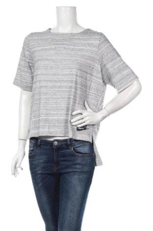 Női póló Nike, Méret M, Szín Szürke, 57% viszkóz, 37% pamut, 6% elasztán, Ár 13706 Ft