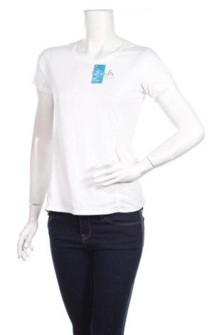 Női póló Odlo, Méret S, Szín Fehér, 88% poliészter, 12% elasztán, Ár 7546 Ft