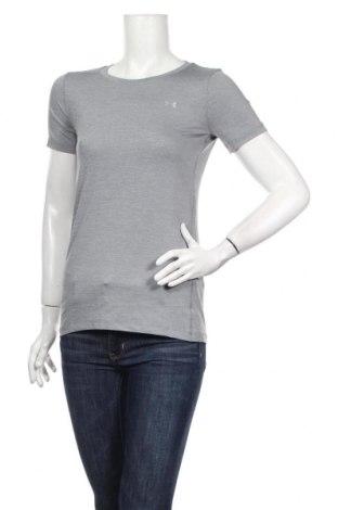 Női póló Under Armour, Méret XS, Szín Szürke, 92% poliészter, 8% elasztán, Ár 13706 Ft