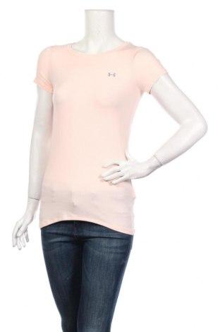 Női póló Under Armour, Méret XS, Szín Rózsaszín, 94% poliészter, 6% elasztán, Ár 13706 Ft