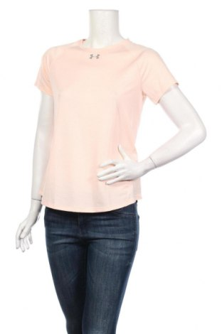 Női póló Under Armour, Méret M, Szín Rózsaszín, 94% poliészter, 6% elasztán, Ár 17800 Ft