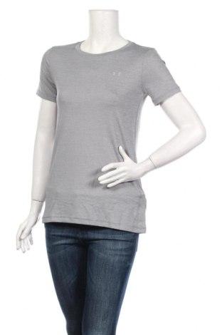 Női póló Under Armour, Méret M, Szín Szürke, 92% poliészter, 8% elasztán, Ár 13706 Ft