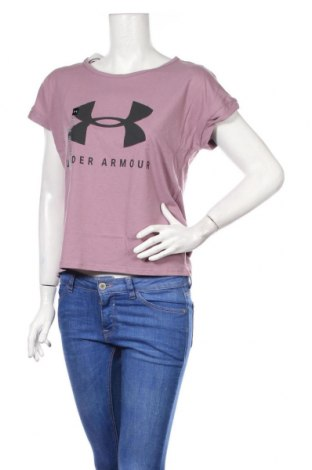 Női póló Under Armour, Méret XS, Szín Rózsaszín, 60% pamut, 40% poliészter, Ár 13706 Ft