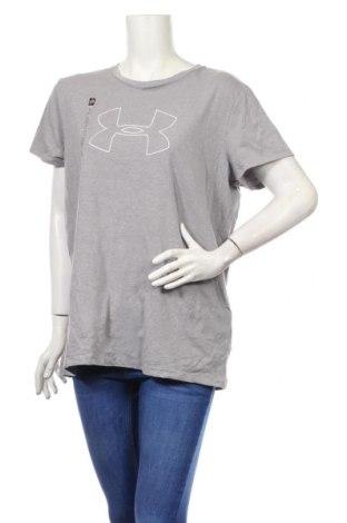 Dámské tričko Under Armour, Rozměr XL, Barva Šedá, 57% bavlna, 38% polyester, 5% elastan, Cena  1078,00Kč