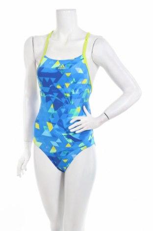Damski strój kąpielowy Adidas, Rozmiar XS, Kolor Niebieski, 80% poliamid, 20% elastyna, Cena 120,48zł