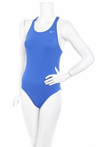 Costum de baie de damă Nike, Mărime M, Culoare Albastru, Poliester, Preț 128,95 Lei