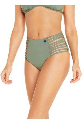 Dámske plavky  Sylvie Flirty, Veľkosť L, Farba Zelená, 88% polyamide, 12% elastan, Cena  14,47€