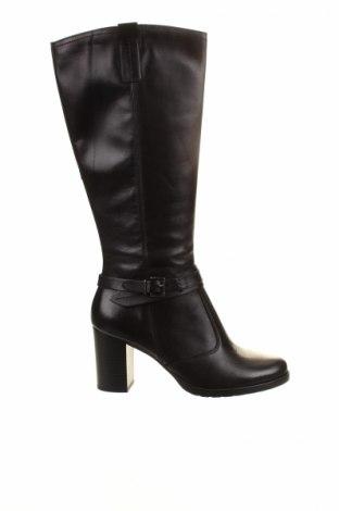 Дамски ботуши Andre, Размер 40, Цвят Черен, Естествена кожа, Цена 136,32лв.