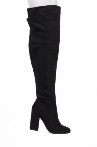 Дамски ботуши Koi footwear, Размер 39, Цвят Черен, Текстил, Цена 52,56лв.