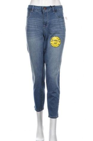 Γυναικείο Τζίν 1822 Denim, Μέγεθος XL, Χρώμα Μπλέ, 73% βαμβάκι, 23% πολυεστέρας, 4% ελαστάνη, Τιμή 14,03€