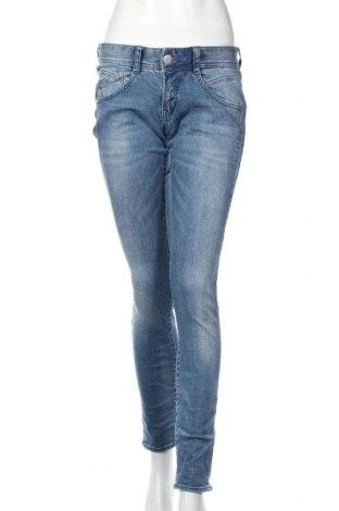 Dámske džínsy  Herrlicher, Veľkosť M, Farba Modrá, 92% bavlna, 6% polyester, 2% elastan, Cena  59,23€