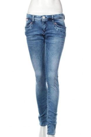 Dámske džínsy  Herrlicher, Veľkosť L, Farba Modrá, 92% bavlna, 6% polyester, 2% elastan, Cena  55,73€