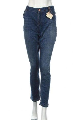 Дамски дънки LCW, Размер XL, Цвят Син, 98% памук, 2% еластан, Цена 38,22лв.