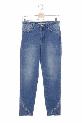 Дамски дънки LCW, Размер XS, Цвят Син, 98% памук, 2% еластан, Цена 20,53лв.