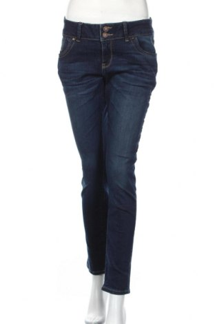 Дамски дънки Ltb, Размер L, Цвят Син, 61% памук, 31% модал, 6% полиестер, 2% еластан, Цена 37,40лв.