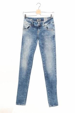 Дамски дънки Ltb, Размер S, Цвят Син, 96% памук, 4% еластан, Цена 32,45лв.