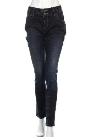 Дамски дънки Ltb, Размер XL, Цвят Син, 98% памук, 2% еластан, Цена 44,50лв.